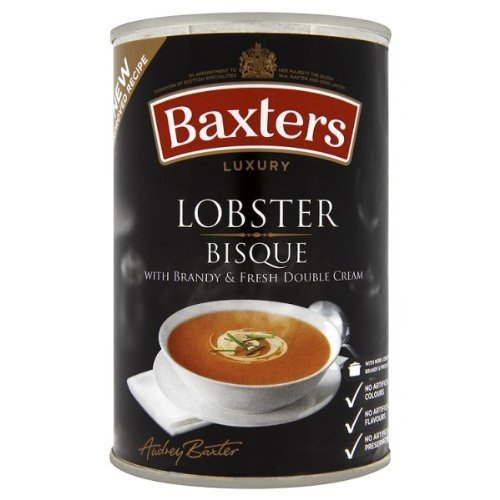 Baxters Luxury Bisque de homard - 3 x 400g de Baxters Luxury Lobster Bisque 3 x 400g