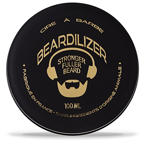Beardilizer® Wax - Cire Naturelle pour Barbe - 100ml de Beardilizer