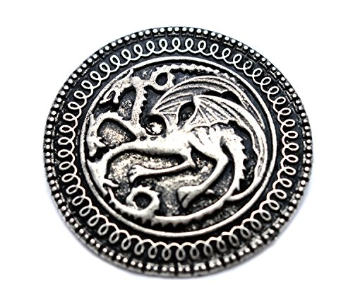 "Targaryen Dragon Broche Game Of Thrones ""Song Of Ice And Fire"" de Beaux Bijoux"
