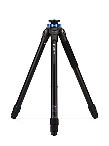 Benro TMA47AL Mach3 AL Series 4 Long Tripod, 3 Section, Twist Lock. (Noir) de Benro
