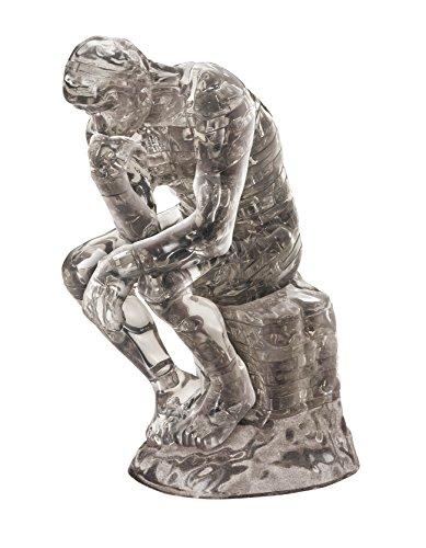 Crystal 3D Standing Jigsaw Puzzle - The Thinker 43 pcs Pieces Le Penseur Auguste Rodin Statue House Home Decor Beverly by Beverly de Beverly