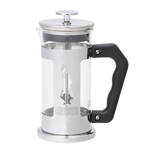 Bialetti - 3160 - French Press Preziosa - Cafetière Italienne à Piston en Inox - 3 Tasses de Bialetti