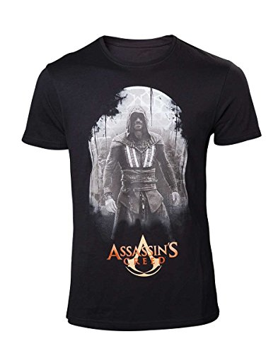 Assassins Creed Movie Mens T-Shirt Aguilar on Black M [Import allemand] de Bioworld