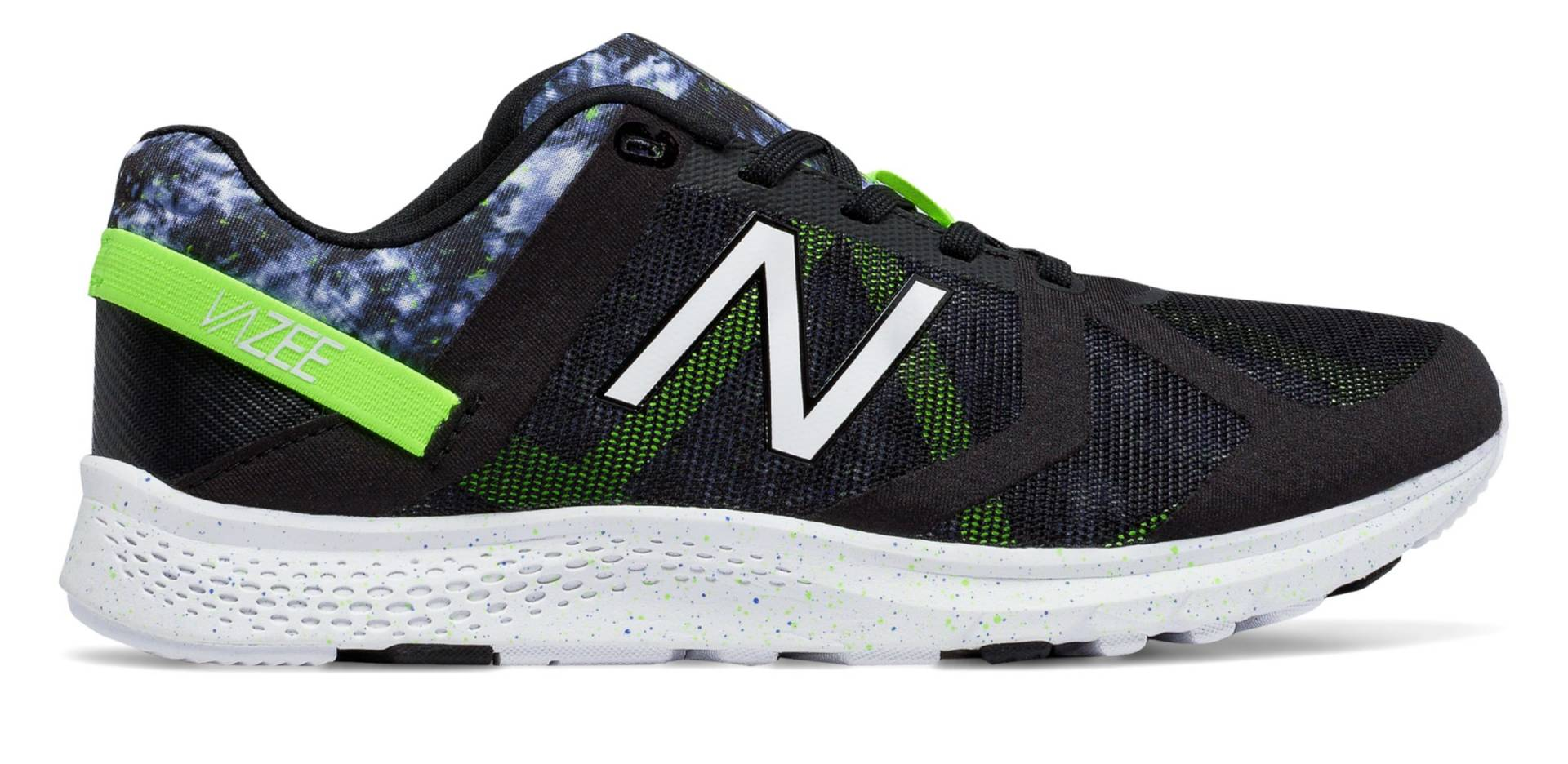 Vazee Transform Graphic Trainer de Black with Lime Glo & Grey