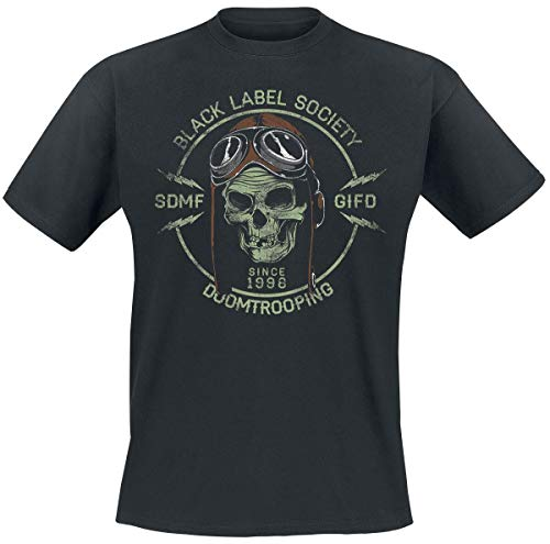 Black Label Society Doomtrooper T-shirt noir L de Black Label