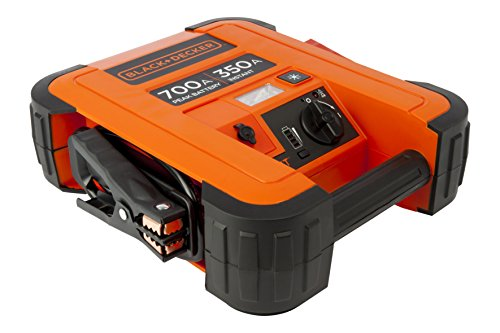 Black + Decker BDJS350 Booster batterie - 350 A - USB Port 2,1 AMP de Black & Decker