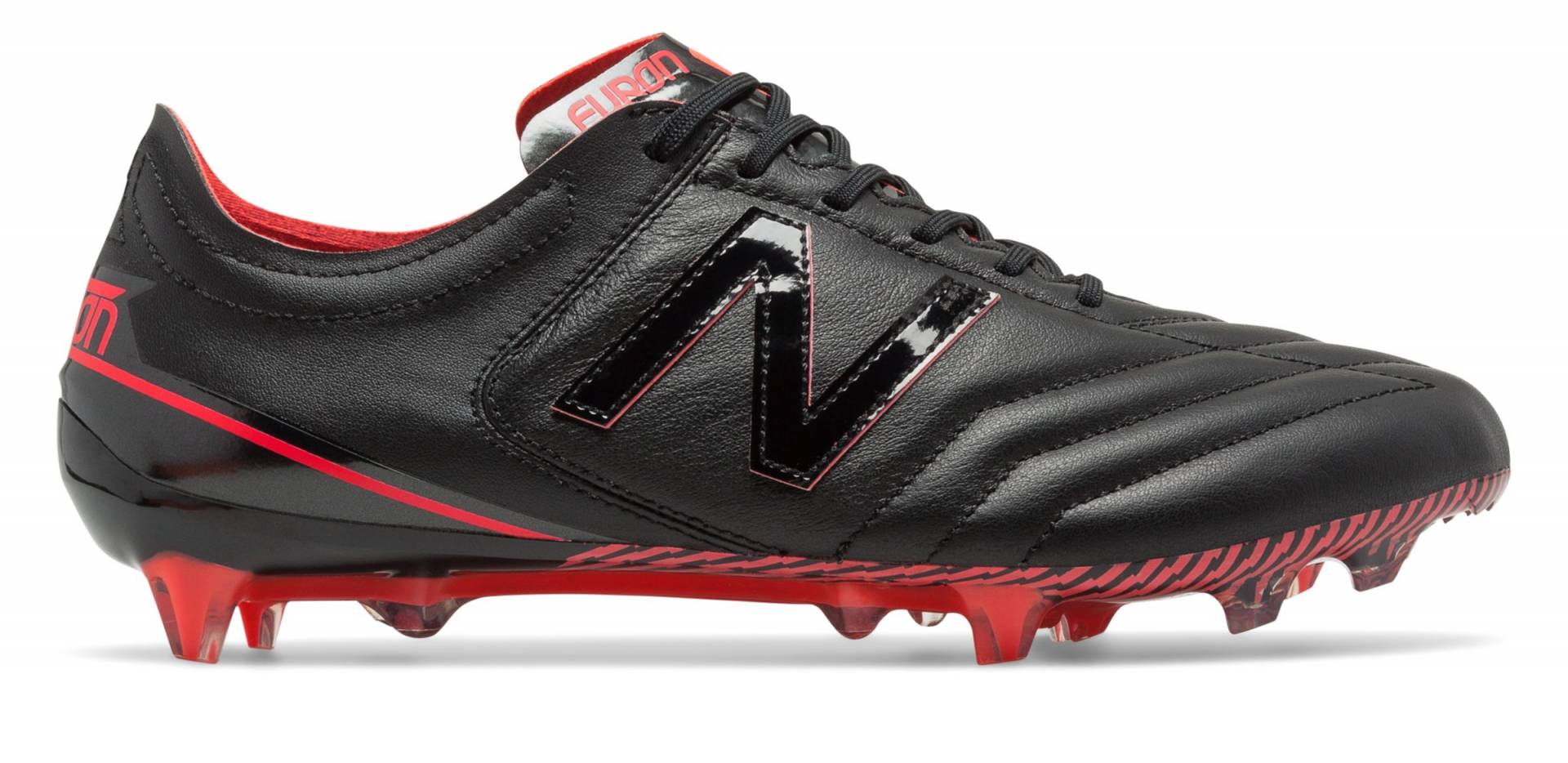 Furon 3.0 K-Leather FG de Black with Energy Red