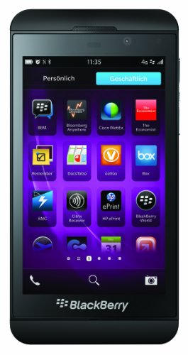 Blackberry Z10 NFC LTE Smartphone Compact de BlackBerry