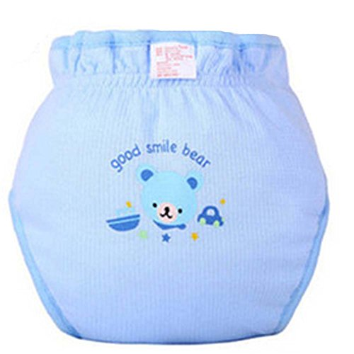 Lot de 2 Lovely Bear Infant Leak Proof Imperméable Respirant Diaper de Blancho