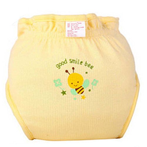 Lot de 2 Lovely Bee Infant respirante Leak Diaper Waterproof Proof de Blancho