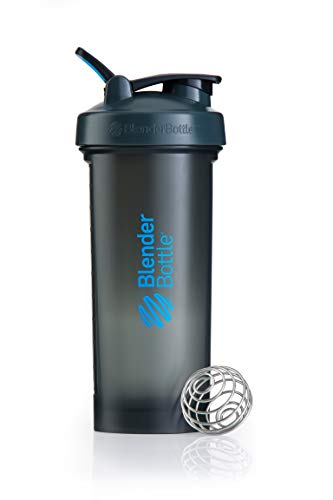 Blender Bottle Pro45 - Protéine Shaker / Bouteille d'eau (1300ml) Gris/Bleu de Blender Bottle