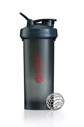 Blender Bottle Pro45 - Protéine Shaker / Bouteille d'eau (1300ml) Gris/Rouge de Blender Bottle