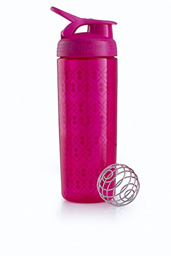 Blender Bottle Signature Sleek - Protéine Shaker / Bouteilled'eau  820ml Rose Geo Lace de Blender Bottle