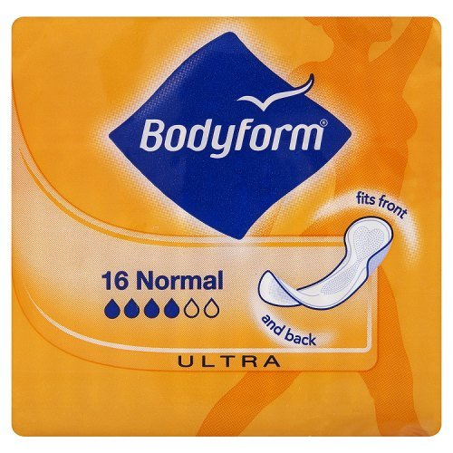 suspendre 16 Normal Ultra Serviettes de Bodyform