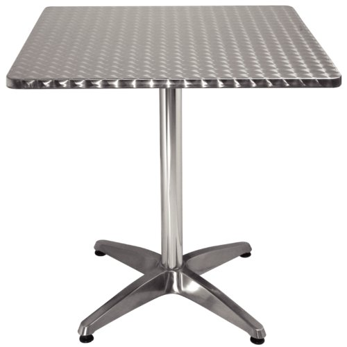 Bolero Table de bistrot cg834, Carré de Bolero