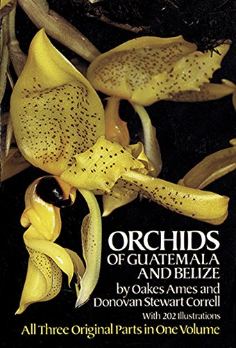 Orchids of Guatemala and Belize de Brand: Dover Publications