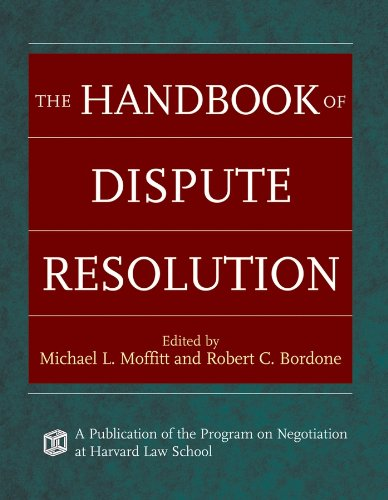 The Handbook of Dispute Resolution de John Wiley & Sons