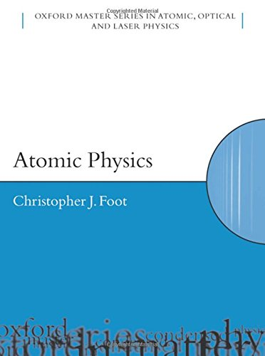 Atomic Physics de Brand: Oxford University Press USA