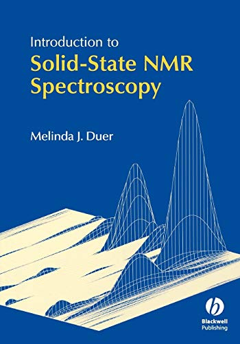 Introduction to Solid-State NMR Spectroscopy de Brand: WileyBlackwell
