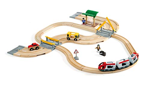 BRIO World  - 33209 - CIRCUIT CORRESPONDANCE TRAIN / BUS de BRIO