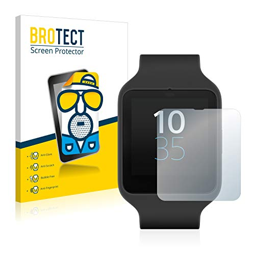 [2 Pack] Film Protection Mat Sony Smartwatch 3 SWR50 Protecteur écran Anti-reflets Screen Protector de Brotect