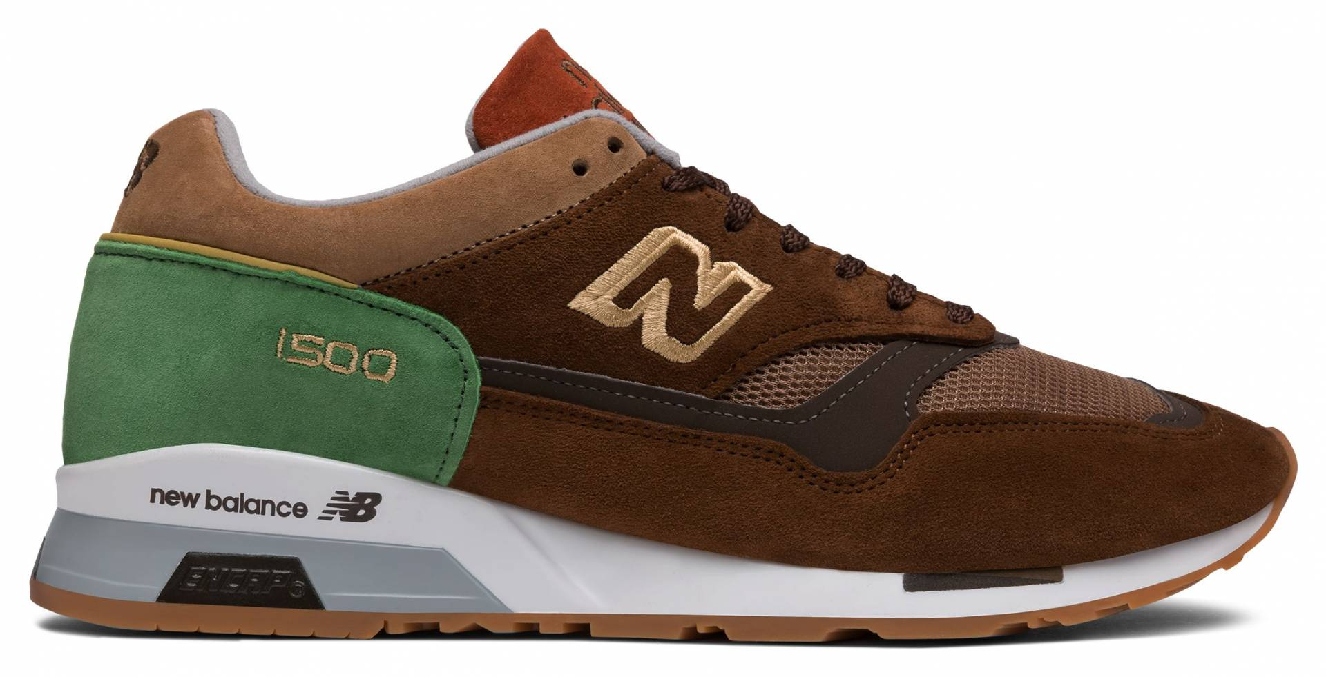 1500 Made in UK de Brown with Green
