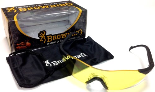 2014 Browning Yellow Claybuster Clay Pigeon Shooting Glasses by Browning de Browning