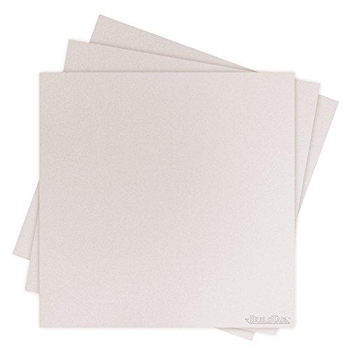 "Buildtak BT12X12WT-3PK Impression 3D Construire Surface, 12"" x 12"", 304 x 304 mm, Carré, Blanc (Paquet de 3) de Buildtak"