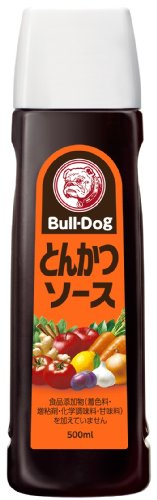 Bull-Dog Sauce Tonkatsu (500ml) de Bulldog