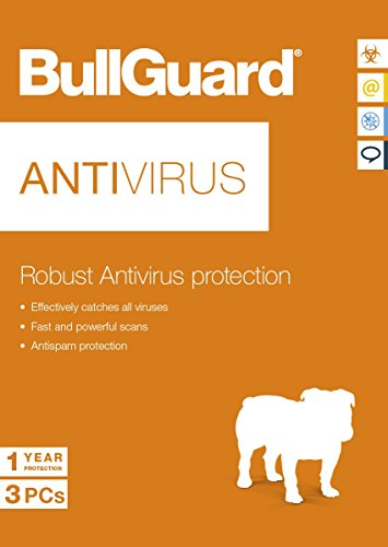 BullGuard Antivirus Latest Edition - 1 Year - 3 User Licence - for All Windows PC's de Bullguard