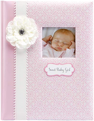 CR Gibson Babye First Memory Book - Ensemble cadeau bébé nouveau-né / Keepsake / Baby Journal (Bella) de CR Gibson