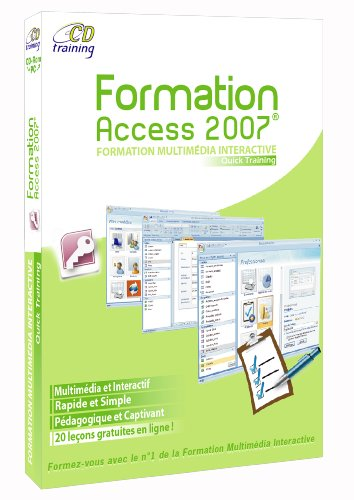 Quick training Access 2007 de CD Training