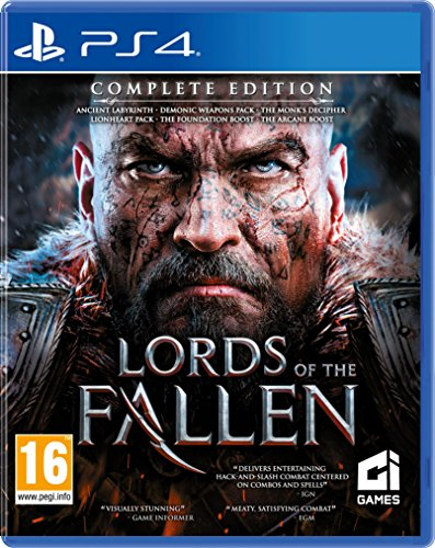 Lords Of The Fallen Complete Edition PS4 Game de CI Games