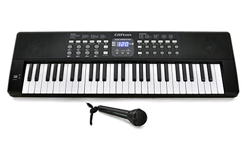 Clifton LP5450 Clavier arrangeur 54 touches et micro de CLIFTON