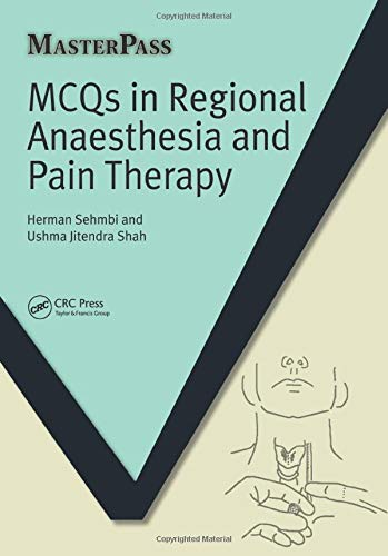 Mcqs in Regional Anaesthesia and Pain Therapy de Routledge