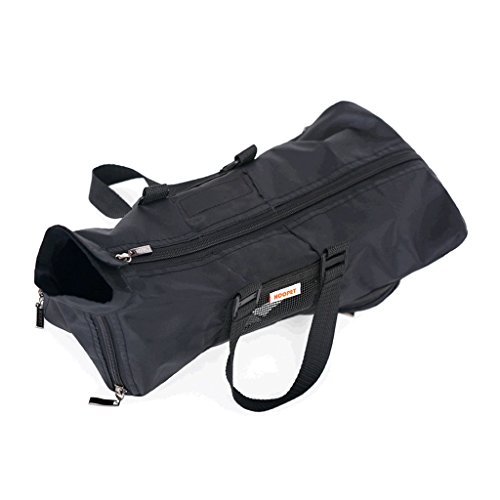 CS Sac d'animal familier et sac de chat hors du sac portatif, confortable et respirable Air Sac d'épaule simple et sac de chat Sac multifonctionnel d'allaitement ( Size : M ) de CS