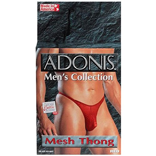 Adonis Mesh String Rouge de California Exotic