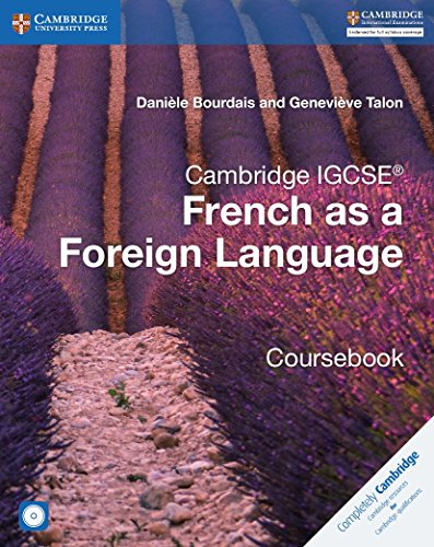 Cambridge IGCSE® and O Level French as a Foreign Language Coursebook with Audio CDs (2) de Cambridge University Press