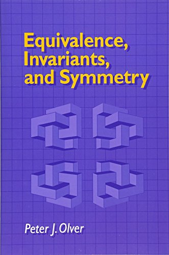 Equivalence, Invariants and Symmetry de Cambridge University Press
