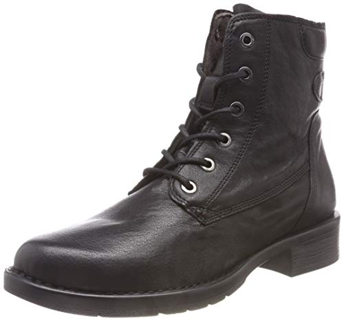 Camel Active Bright 70, Bottes Motardes Femme, Noir (Black 1), 37 EU de Camel Active