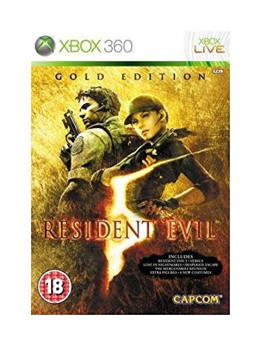 RESIDENT EVIL 5 GOLD CLASSICS [UK IMPORT] de Capcom