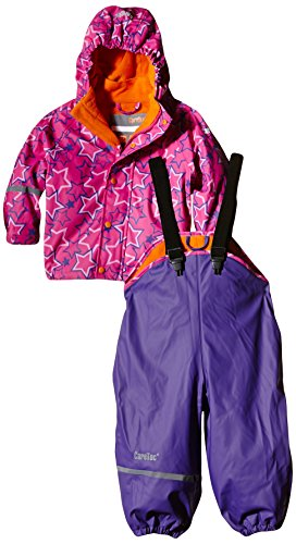 CareTec - Manteau imperméable Fille -  Violet - 3 ans de CareTec