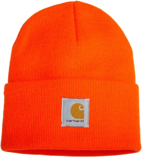 Carhartt Bonnet A18 orange Watch Hat Beanie de Carhartt