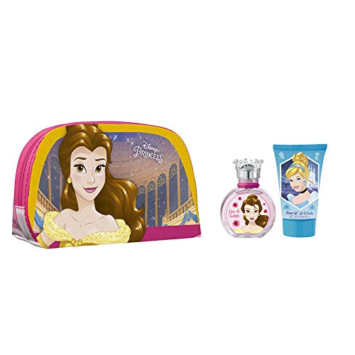 Cartoon Princess Disney Kit de Parfum + Gel Douche + Trousse 150 ml de Cartoon