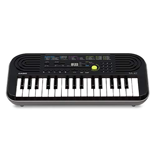 Casio SA-47 Mini Clavier 32 touches Gris de Casio Musical Instruments