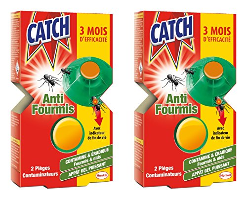 CATCH Set de 2 Contaminateurs Fourmis - Lot de 2 de Catch