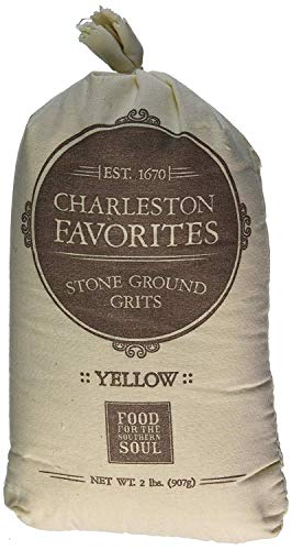 Charleston Favorites Stone Ground Grits - Yellow 2 Lbs by Charleston Favorites de Charleston Favorites