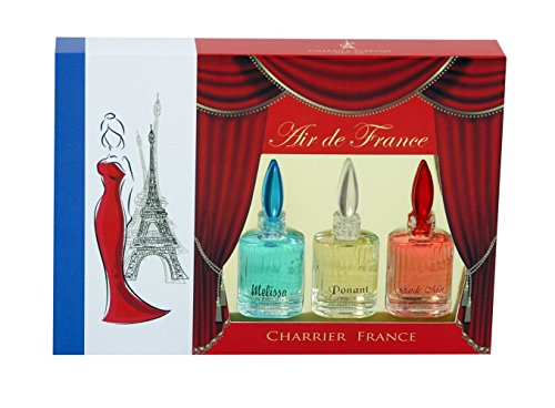 Charrier Parfums Air de France Coffret de 3 Eau de Parfums Miniatures Total 15 ml de Charrier Parfums