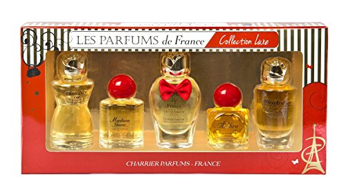 Charrier Parfums De France Collection Luxe Coffret De 5 Eau De Parfums Miniatures Total 49, 7 Ml de Charrier Parfums