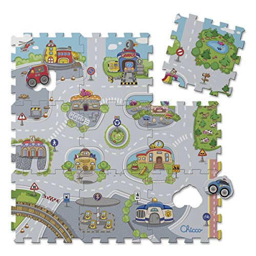 Chicco - 00007163000000 - Tapis Puzzle City de Chicco